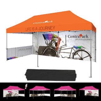 20 foot printed tent